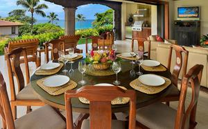 Golden Mandarin Pool Villa D102 at Wailea Beach Villas