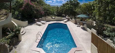 Pool House at Surfsong