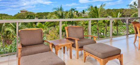 Ho Olei at Grand Wailea - 3 Bedroom Garden View