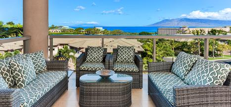 Ho Olei at Grand Wailea - 3 Bedroom Deluxe Ocean View